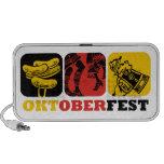 Doodle de la diversión de Oktoberfest Altavoces De Viajar
