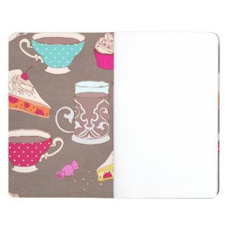 Doodle de la empanada de la magdalena de la impres cuadernos grapados