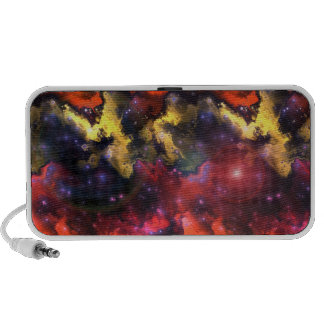 Doodle de la nebulosa 5 del fractal altavoz