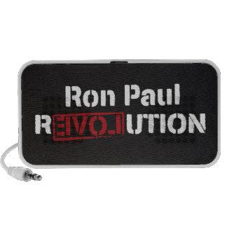 Doodle de la revolución de Ron Paul Altavoces De Viaje