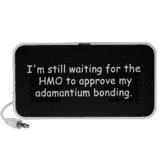 Doodle de la vinculación de Adamantium iPod Altavoz