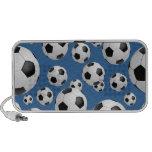 Doodle de los balones de fútbol del fútbol altavoz