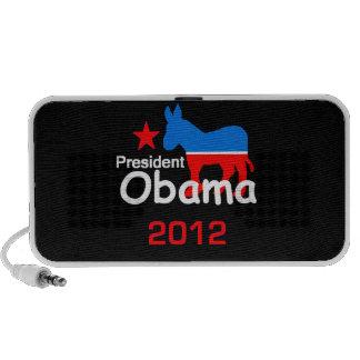 Doodle de Obama 2012 Mini Altavoces