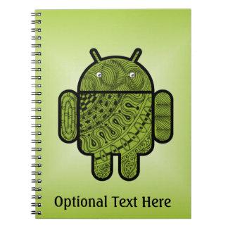 Doodle de Pancho para Android™ Libreta