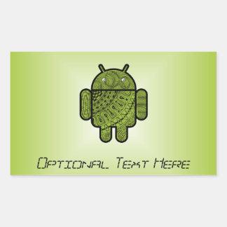 Doodle de Pancho para Android™ Rectangular Altavoz