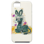 Doodle del burro iPhone 5 Case-Mate protectores