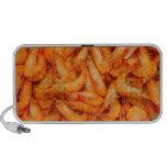 Doodle del camarón laptop altavoz