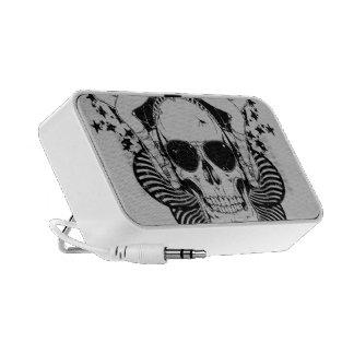 Doodle del cráneo de Sunglass Altavoces