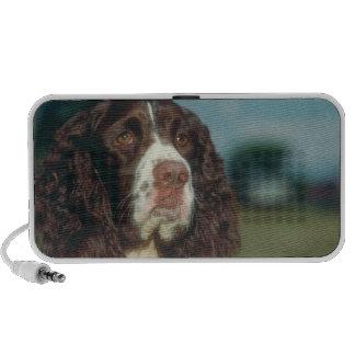 Doodle del perro de aguas de saltador inglés iPod altavoz