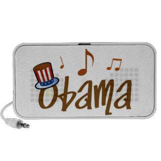 Doodle del presidente altavoz portátil del canto