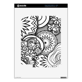 Doodle Depth Series Decals For iPad 2