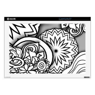 Doodle Depth Series Laptop Skins
