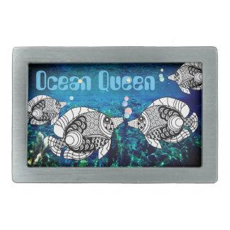 Doodle Design Angelfish Faux Aquarium Belt Buckle
