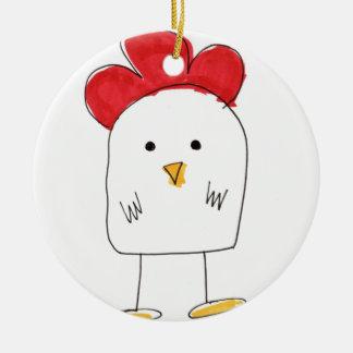 Doodle Dolby del pollo lindo Adorno Para Reyes