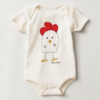 Doodle Dolby del pollo lindo Traje De Bebé