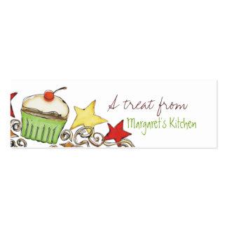 doodle el GIF del día de fiesta del navidad de la Plantillas De Tarjeta De Negocio