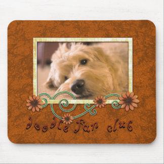 Doodle Fan Club Custom Pet Dog Photo Mouse Pad