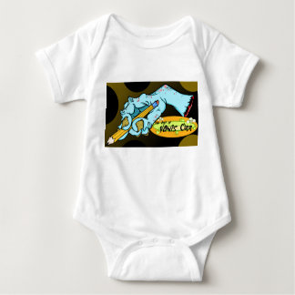 Doodle fist 2 baby bodysuit
