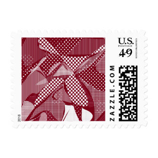 Doodle Fun 06 red Postage