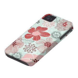 doodle iPhone 4 Case-Mate funda