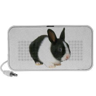 Doodle holandés del conejo de conejito iPod altavoz