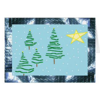 Doodle Holiday Cheer Duct Tape Card