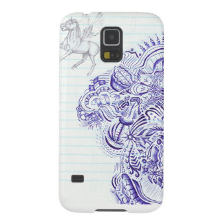 Doodle image created from KIds Art design Samsung Galaxy Nexus Cover