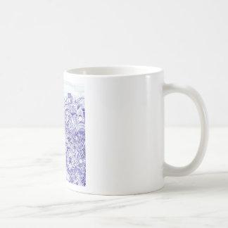 Doodle image created from KIds Art design Coffee Mug