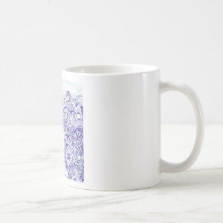 Doodle image created from KIds Art design Mugs