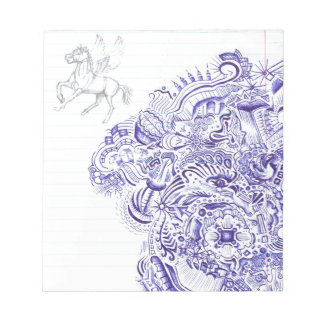 Doodle image created from KIds Art design Notepad