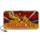 Doodle increíble de las películas de Goldkaizer iPod Altavoz