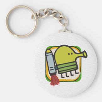 Doodle Jump Keychain