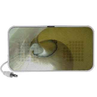 Doodle Laptop Speaker with Pretty Shell Design