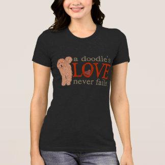 Doodle Love - Apricot GoldenDoodle T-Shirt