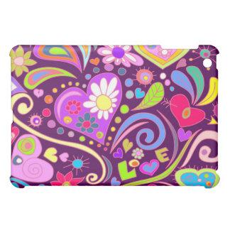 doodle love iPad mini case