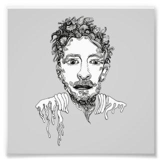 Doodle Man Photo Print