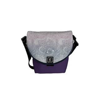 Doodle Mandala Messenger Bag Courier Bags