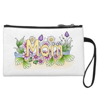 Doodle Mom Wristlet Wallet