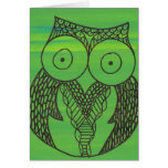 Doodle Owl Card