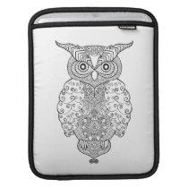 Doodle Owl iPad Sleeve