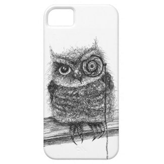 Doodle Owl iPhone 5/5S Case