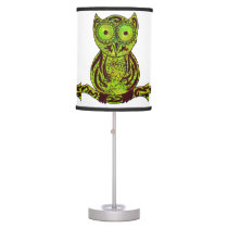 Doodle Owl Table Lamp
