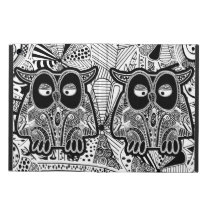 doodle owls case for iPad air