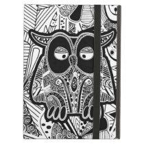 doodle owls iPad air cover