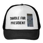 Doodle para el presidente gorras