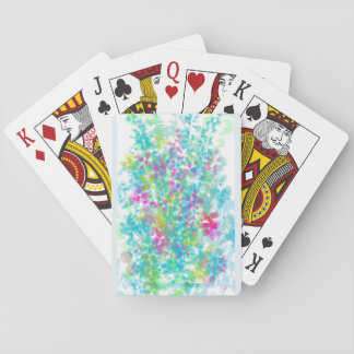 Doodle Party  Floral Playing Cards