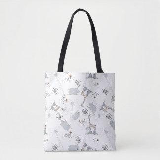 doodle pattern 2 tote bag