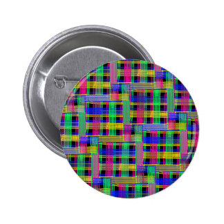 Doodle pattern FREEDOM 2 Inch Round Button