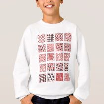 doodle patterns sweatshirt