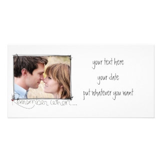 doodle picture photo card